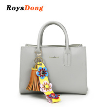 RoyaDong New Fashion 2017 Flower Women Bags High Quality Tassel Handbags Women Shoulder Bag 2 Strap Dress Handbag Female Bags