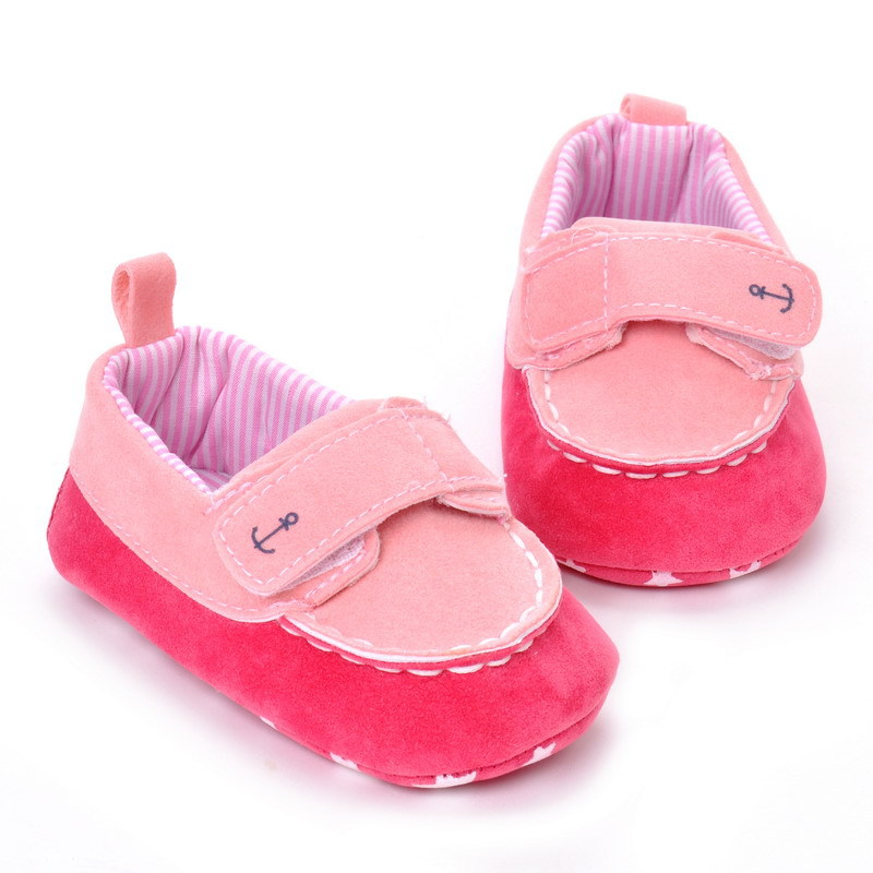 17 Fashion Newborn Baby Girl Boy Shoes Soft Sole Infantil Toddler Baby Boy Sneakers Blue Baby Mocassins Crib Peas Flock Shoes 10