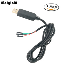 MCIGICM 1pcs NEW 1m USB To RS232 TTL UART PL2303HX Auto Converter USB to COM Cable Adapter Module Hot sale(China)