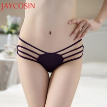 Buy Sexy Lingerie Women Bandage Open Butt Panties Lady Hollow Bow Crotchless Underwear Knickers Underpants Thongs G-String Ma4