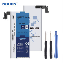 Original NOHON Mobile Phone Battery For Apple iPhone 4 4G Real Capacity 1420mAh Li-ion Internal Battery Free Tool Retail Package