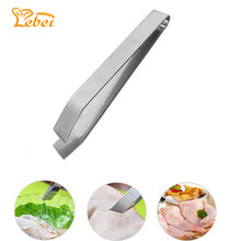 Kitchen Stainless Steel Fish Bone Remover Pincer Puller Tweezer Tongs Animal Fur Epilation Tool  C1895P20