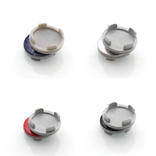 4pcs/set 54mm blue silver black red Car Wheel Center Caps Hubs covers emblem For Fiesta Focus Fusion Mondeo 6M211003AA(China)