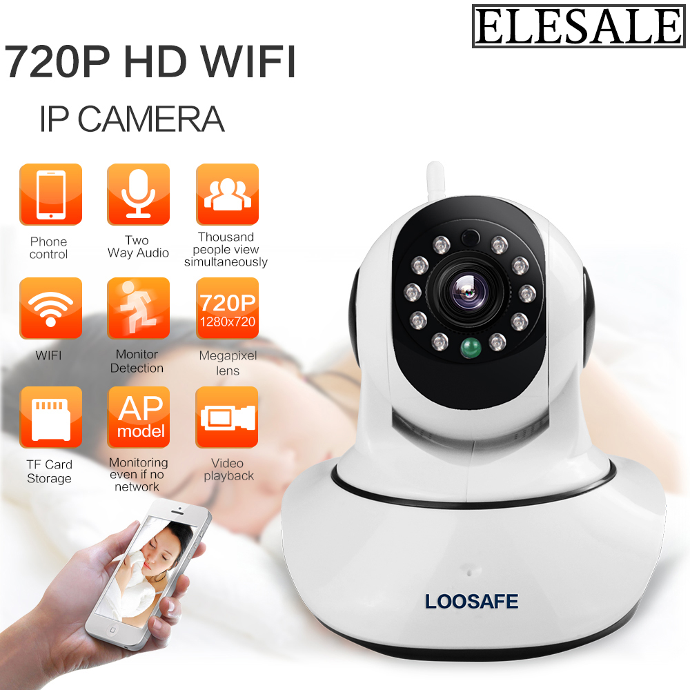 HD 720P Wireless IP Camera WIFI Onvif Video Surveillance Alarm Systems Security Network Home IP Camera Night Vision<br>