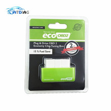 ECO OBD2 15% Fuel Save EcoOBD2 Chip Tuning Box Petrol Gasoline Cars Plug & Drive Device OBDII Diagnostic Tool Retail Box(China)