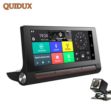 QUIDUX 6.86 Inch FHD 1080P Car DVR 3G WCDMA Android Dash Cam GPS Navigation Car Video Camera Recorder Wifi Bluetooth Registrator