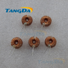 Tangda amorphous magnetic inductors ring Large current 12*8.5*5 0.6mm wire 100MH 3A Core Toroidal winding  inductance