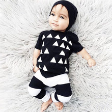 2017 Baby Boy Clothes Summer Baby Brand Clothing Sets Fashion Short Sleeve Newborn Baby Romper Roupas Infantis Bebes Clothes