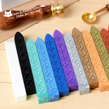 Vintage Multicolor Sealing Wax High Quality Wax Seal Imprinted Special Stamp Wax Stick 18 Colors for Your Choice