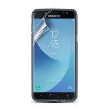 RISIEA 2pcs Clear glossy Screen Protector HD Guard Protective Film Samsung Galaxy A8 2018 A3 A5 A7 A8 2015 2016 2017 2018