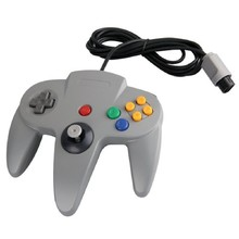 Brand New & High Quality Fashion  Style Long Handle Game Controller Pad Vibrations shock Joystick for Nintendo 64 N64 System