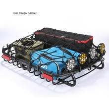 Universal Car Roof Rack Cross Bar for Auto SUV Offroad Cargo Luggage Carrier Load 100KG(China)