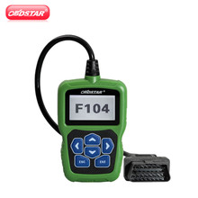 OBDSTAR F104 Key Programmer for Chrysler/Jeep/Dodge with Odometer and Pin Code Reader Function Support New Models(Hong Kong)