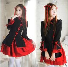2017 new Chinese wind dancer princess dress maid outfits and wind vibration sleeve kimono Japanese anime clothing M-2XL 2 CPLORS(China)