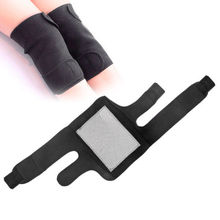 1Pair Tourmaline Self Heating Kneepad Magnetic Therapy Knee Support Spontaneous Hot Belt Leg Foot Joint Knee Massager