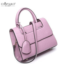 CHISPAULO Famous Designer Brand Women Bag Women Handbags Shoulder Bag Women Mango Bags Alligator pattern Handbag High Quality(China)
