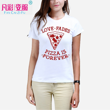 2017 Create your own pictures of T shirt The new woman printed t-shirts Manufacturers selling Can provide customized picture