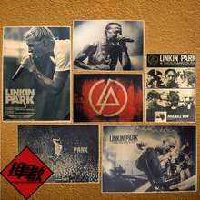 LinkinPark metal rock band linkin park wall posters pictures Kraft paper adornment restoring ancient ways 42x30CM(China)