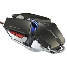 NEW G50 Full Speed Photoelectric braided Wired Gaming Mouse With 4000DPI IN STOCK!