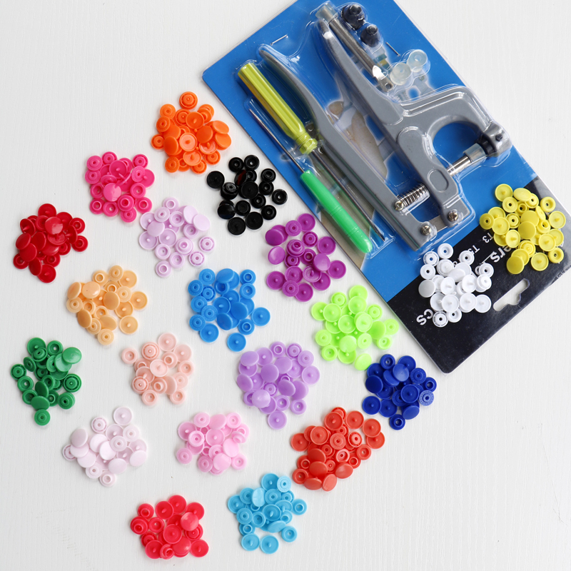 300 Set T5 KAM Snaps Plastic Resin Press Poppers Snap Fasteners With KAM Button Fastener Snap Pliers NEW Stud Cloth Diaper HD022<br><br>Aliexpress
