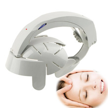 Head Vibration Massage  Massager Electric Head Massage & Relax Brain Acupuncture Points Stress Release Machine US Plug