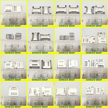 16Models,48pcs total Commun use New SIM card reader connector For HUAWEI Lenovo Samsung Xiaomi HTC Coolpad SIM card holder tray(China)