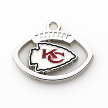 Buy 20pcs/lot Kansas City Chiefs Charm Team Dangle Charms Hanging Sports Floating Charms DIY Bracelet&bangles Jewelry Accessory for $7.83 in AliExpress store