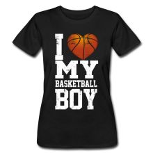 Love My Basketballer Boy Women's T-Shirt Fashion Harajuku Female Kawaii Punk Tops Tees Women T Shirt 2017 Summer Cotton(China)