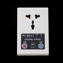 Wholesale 220v EU&UK Plug Cellphone Phone PDA GSM RC Remote Control Socket Power Smart Switch interruptor switches Hot(China)