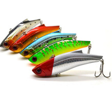 1Pcs Iron Plate Metal VIB Fish Bait 9cm 28g Sinking Sea Fishing Lure Reflective Body High Quality Fishing Tackle(China)