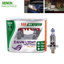 XENCN NEW  H1 12V 80W P14.5s 3800K Second Generation Dawn Light Replace Upgrade Car Headlights Super Bright for astra golf polo