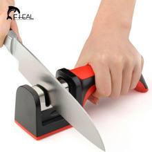 FHEAL Professional Knife Sharpener Two Stages (Diamond & Ceramic) Kitchen Knife Sharpener Household Sharpener For Knives Kitchen Tools(China)