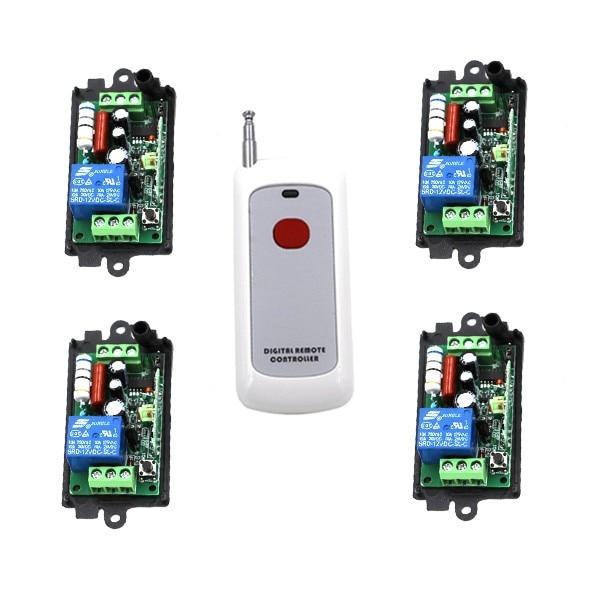 Wireless Remote Control Switch Systerm AC 110V 220V 1CH 1 Way ON / OFF RF Transmitter Receiver SKU: 5207<br><br>Aliexpress
