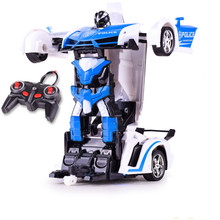 Buy RC Cars toys Remote Control Transformation Robots toy Deformation toys RC Sports Vehicle Model Kids Children Birthday Gift for $6.00 in AliExpress store