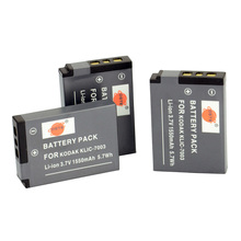 DSTE 3PCS KLIC-7003 Rechargeable Battery for KODAK EasyShare V1003 V803 GE-E1030 GE-E1240G E-E1250TW GE-E850 GE-E855 Camera