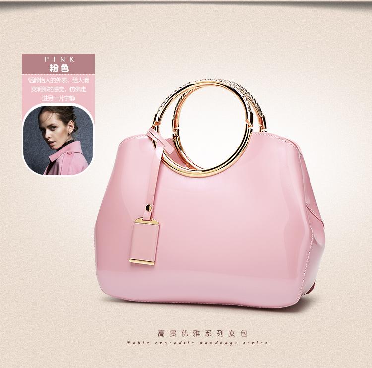 New High Quality Patent Leather Women bag Ladies Cross Body messenger Shoulder Bags Handbags Women Famous Brands bolsa feminina (19)