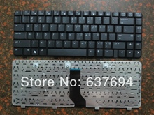 Free Shipping! Brand New laptop QWERTY keyboard For HP DV2000 V3000 DV2400 DV2300 V3414 V3643 Black US Teclado