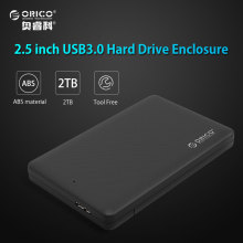 ORICO HDD Enclosure Sata to USB 3.0 HDD Case Tool Free for 7mm/9.5mm 2.5 inch HDD SSD Up to 2TB Hard Disk Box External HDD Case(China)