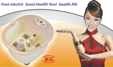 Spa Pedicure Bowl Electric Foot Massage Bath Machine Wash Basins Massager Water Bucket Bowls Footbath Feet Care Health Products(China)