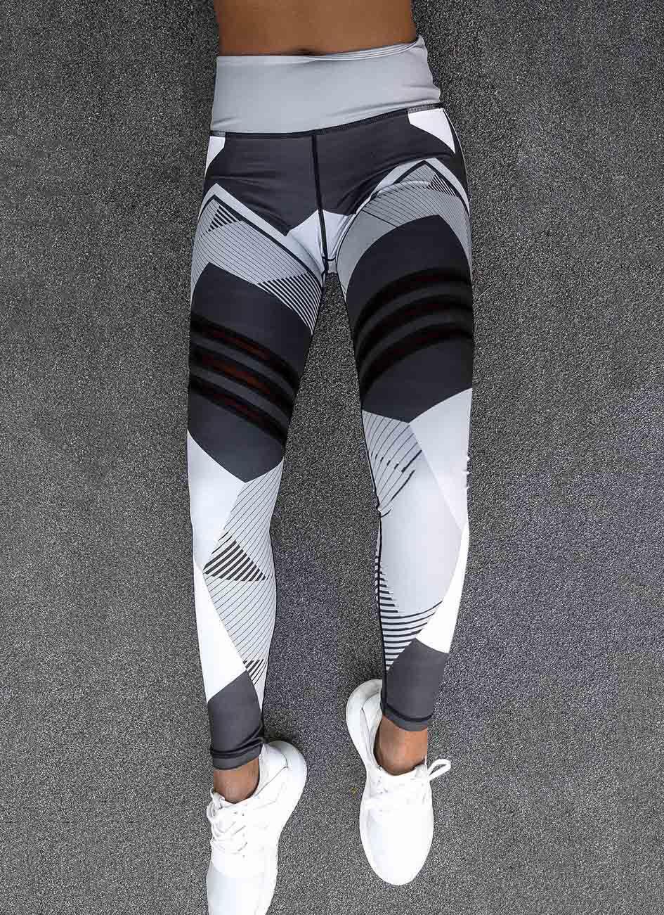 2017 Sale Women Leggings High Elastic Leggings Printing Women Fitness Legging Push Up Pants Clothing Sporting Leggins Jegging 14