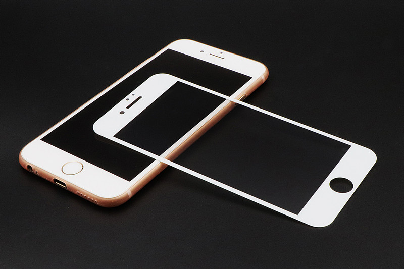 RONICAN Full Cover Tempered Glass for iphone 7 Plus