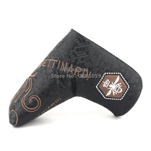 Brand New Golf Putter Cover Magnet Closure  for Blade Golf Putter BETTINRD GOLF black colour Free Shipping