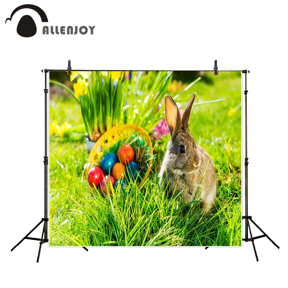 photography background 600CM*300CM New arrival Rabbit eggs grass photo studio Easter day zzj13<br><br>Aliexpress