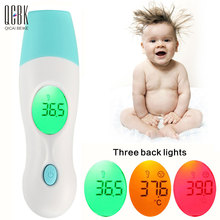 4 in 1 Multi-function Termometro LCD Infrared IR Digital Baby Thermometer Ear Forehead Temperature Fever Diagnostic-tool(China)