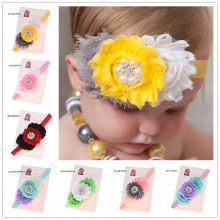 1PCS  Headband Flower Headband Shabby Chic Headband Newborn Headband Vingate Hair Flower Hair Accessories