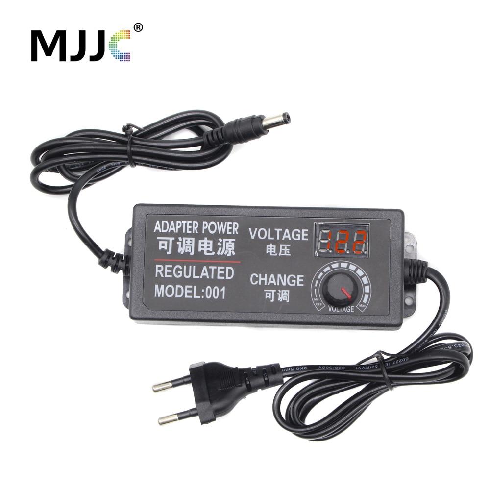 110V//220V to 12V DC 5A 60W Watt Converter Adapter Universal Regulated Switching Power Supply Transformer For LED Strips Display CCTV Radio