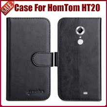 Buy Hot Sale! HomTom HT20 Case High 6 Colors Flip Leather Exclusive Protective Cover HomTom HT20 Case for $4.59 in AliExpress store