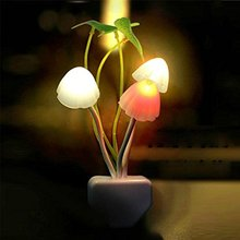 new color romantic Christmas decoration light control LED mushroom lotus flower dream comfortable indoor bedside night ligt