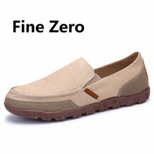 Fine Zero 2017 Man Brand Style Soft Moccasins Men Loafers High Quality jean Shoes Men Flats Driving Flats plus size 45 46 47 48