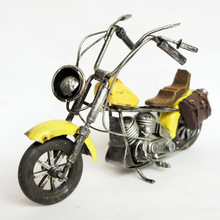 Gift tin factory direct classmate yellow motorcycle M241 qm818